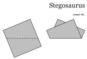 1 Fold - Stegaosaurus