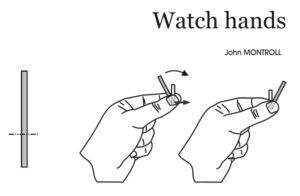 1 Fold - Watch Hands