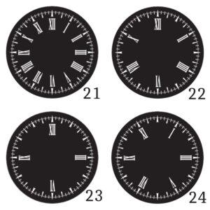 Dials 21 - 24